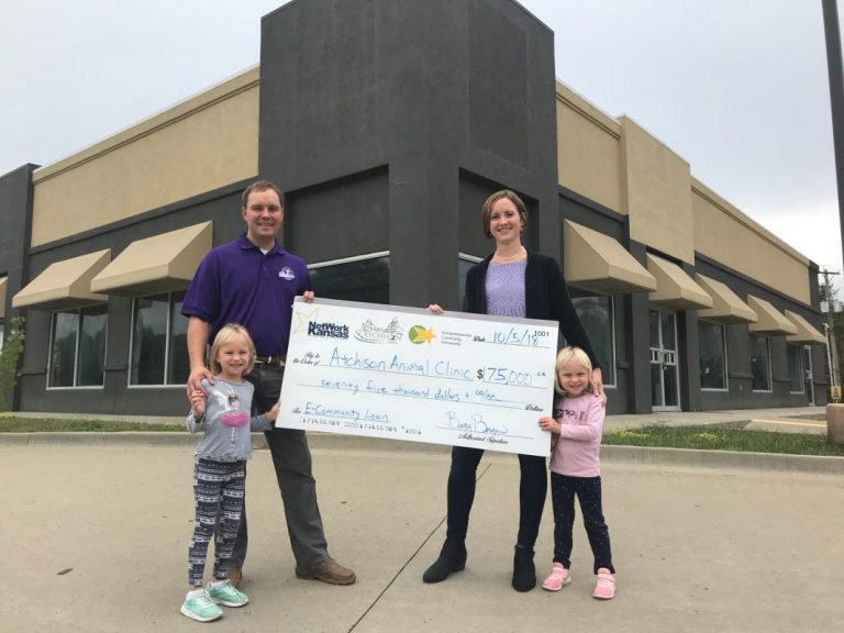 Atchison Animal Clinic Expansion Project Awarded E-Community Loan